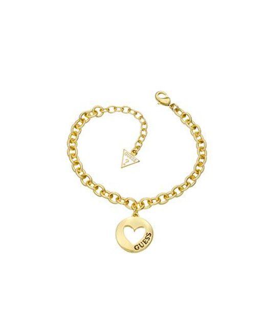 Guess | Metallic Gold Bracelet | Lyst