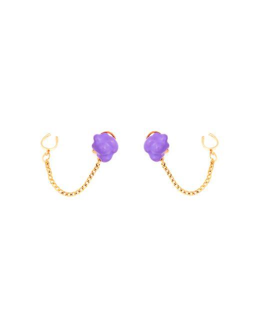 Glenda López | Purple The Lilac Popcorn Earrings | Lyst