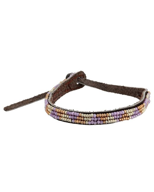 Chan Luu | Brown Turquoise, Sodalite, Amazonite & Leather Multi-row Beaded Wrap Bracelet | Lyst