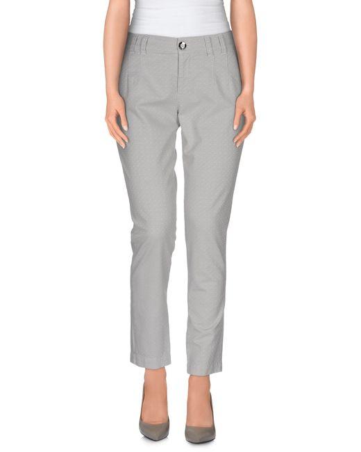 Pinko | Gray Casual Pants | Lyst