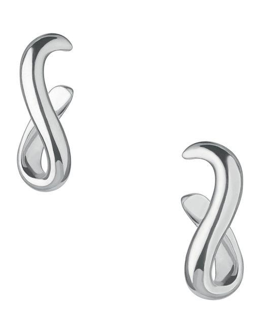 Links of London | Metallic Essentials Infinite Hoop Earrings | Lyst