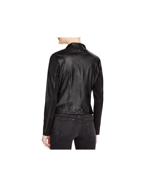 Bb Dakota Arianna Faux Leather Jacket In Black Lyst
