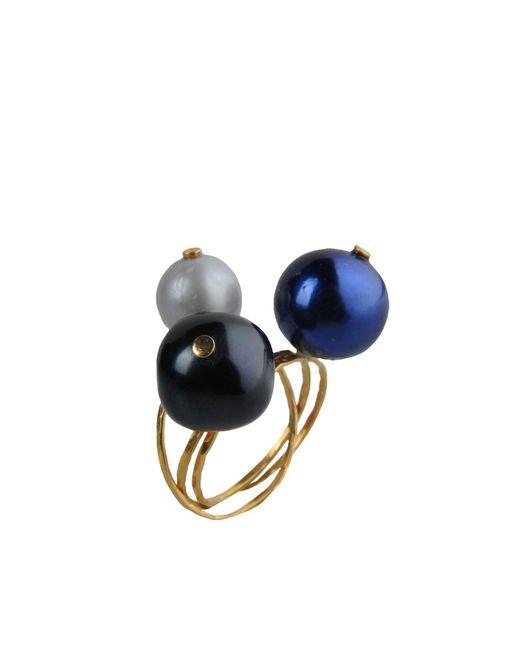 Jorge Morales   Metallic Ring   Lyst