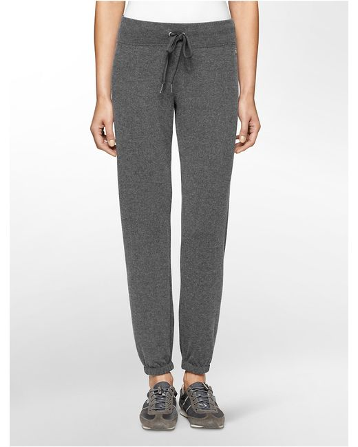 Calvin Klein | Gray Performance Banded Ankle Sweatpants | Lyst