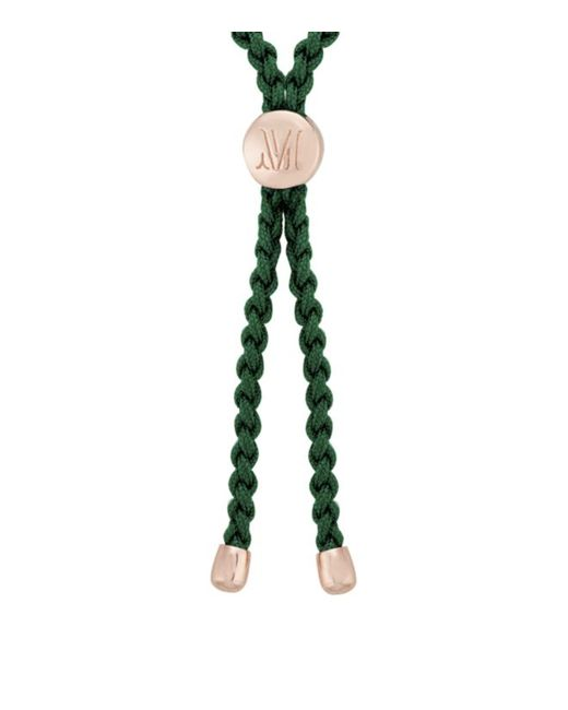 Monica Vinader   Green Fiji Friendship Petite Bracelet   Lyst