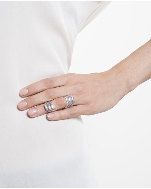 Maria Black | Metallic Sterling Silver Trinity Ring | Lyst