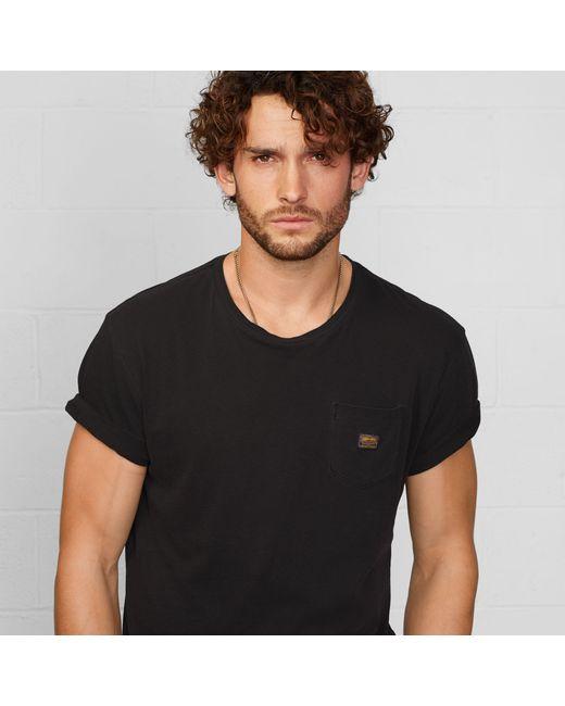 Denim & Supply Ralph Lauren | Black Short-sleeved Pocket T-shirt for Men | Lyst
