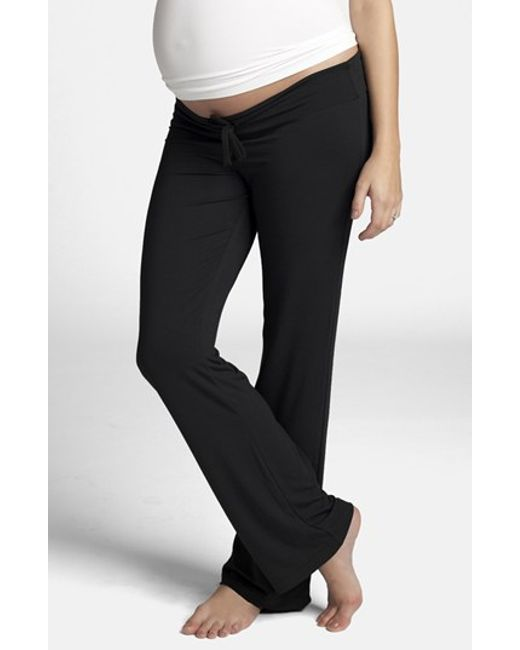 Ingrid & Isabel | Black Ingrid & Isabel Maternity Lounge Pants | Lyst