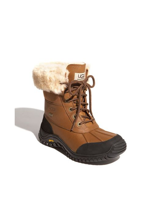 UGG | Brown Ugg 'adirondack Ii' Waterproof Boot | Lyst