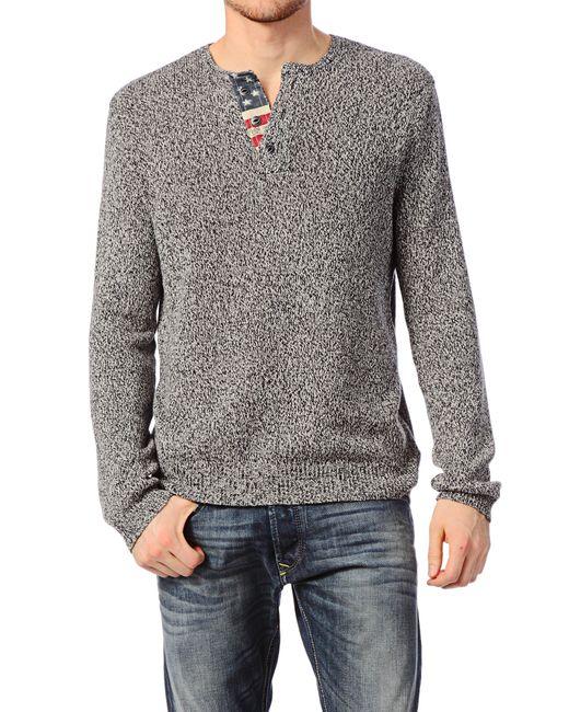 Denim & Supply Ralph Lauren | Blue Men's Cotton Crewneck Sweater for Men | Lyst