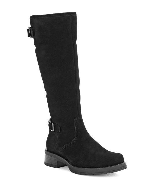La Canadienne | Black Gabriel Stone-oiled Suede Waterproof Boots | Lyst