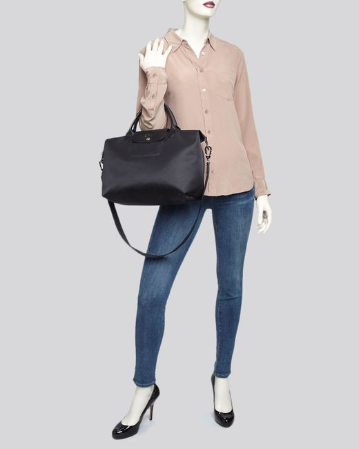 Longchamp Le Pliage Neo Medium Tote In Blue Navy Lyst