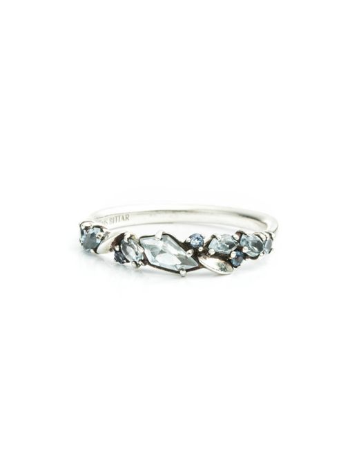 Alexis Bittar | Metallic Cool Heather Marquis Small Cluster Band Ring You Might Also Like | Lyst
