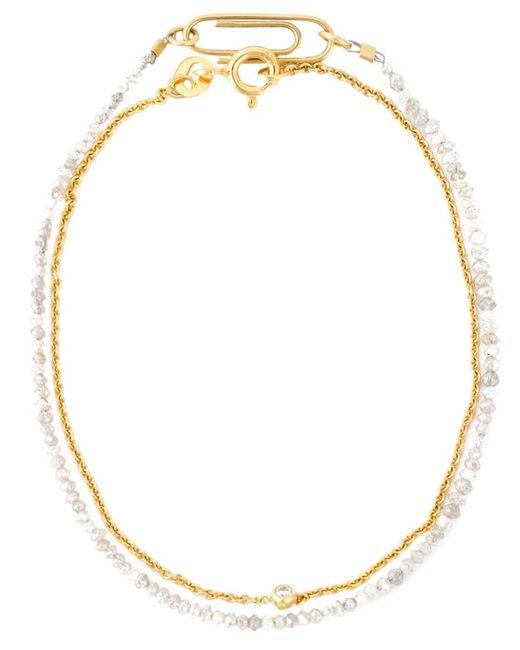 Uzerai Edits | Metallic Diamond Bracelet Set | Lyst
