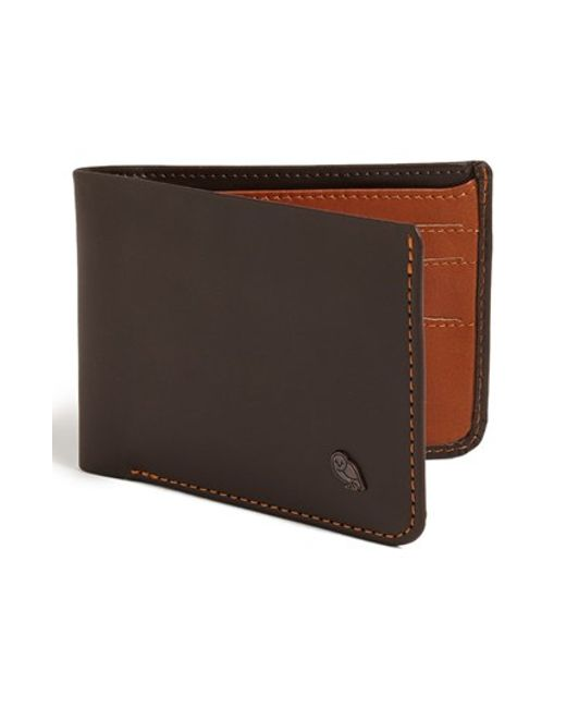 Bellroy | Brown 'hide And Seek' Wallet for Men | Lyst