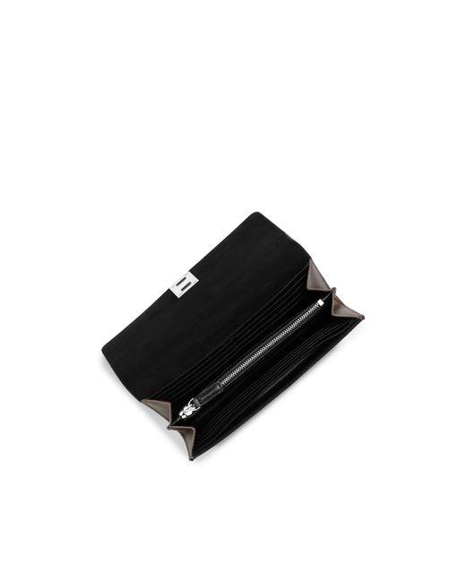 Michael Kors   Gray Miranda Leather Continental Wallet   Lyst