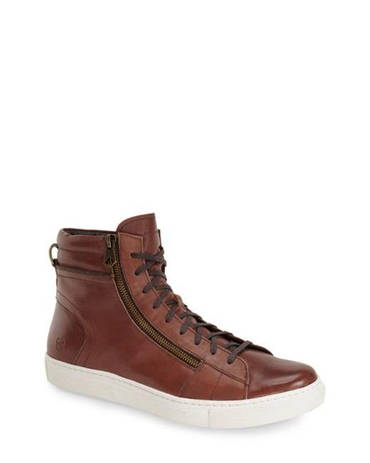 Andrew Marc | Brown 'remsen' Sneaker for Men | Lyst