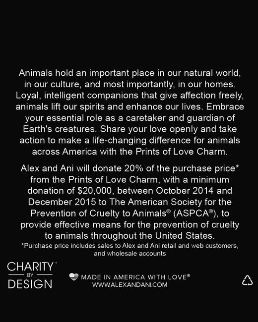 ALEX AND ANI | Metallic Prints Of Love Expandable Wire Bangle, Charity By Design Collection | Lyst