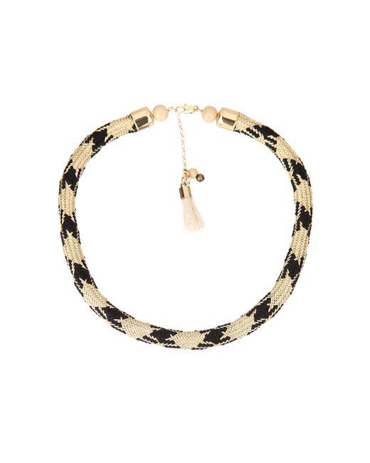 Sessun | Black Necklace / Longcollar | Lyst
