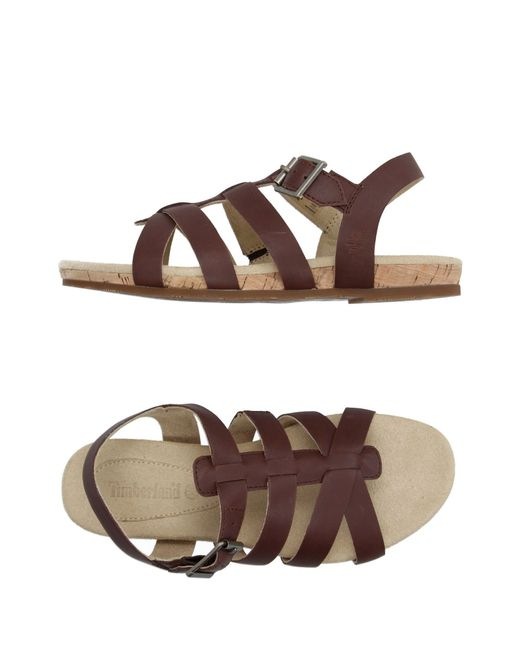 Timberland | Brown Sandals | Lyst
