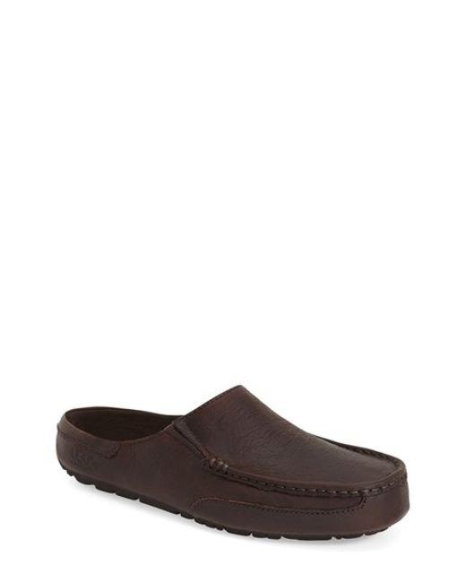 UGG | Brown Ugg Alamar Twinsole Slip-on for Men | Lyst