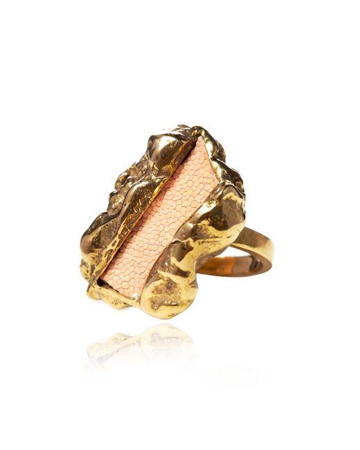 Rachael Ruddick   Metallic Ziggy Ring   Lyst