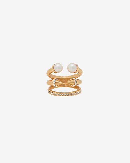 Vita Fede | Metallic Ultra Pearl Titan Crystal Ring | Lyst