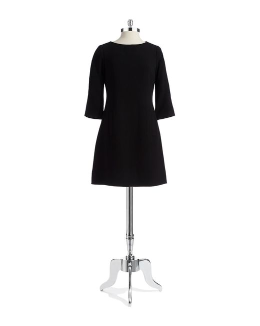 Eliza J | Black Missy Shift Dress | Lyst