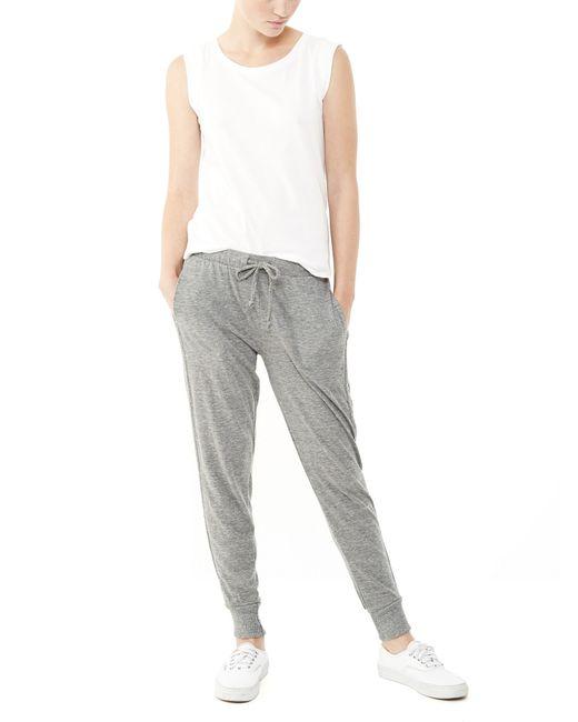 Alternative Apparel   Gray Eco-jersey Jogger Pants   Lyst