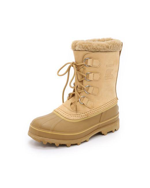 Sorel | Natural Caribou Boots for Men | Lyst