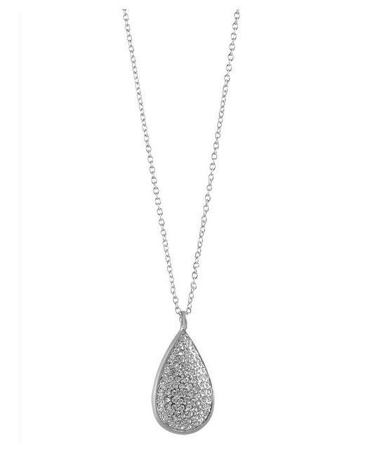 Karen Kane | Metallic Moonlight Dew Drop Long Pendant Necklace | Lyst