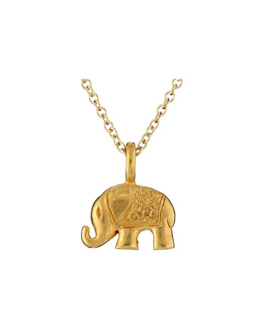 Dogeared | Metallic Lucky Us Elephant Reminder Necklace | Lyst