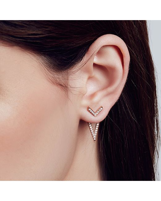 Carbon & Hyde | Metallic Eiffel Ear Jacket | Lyst