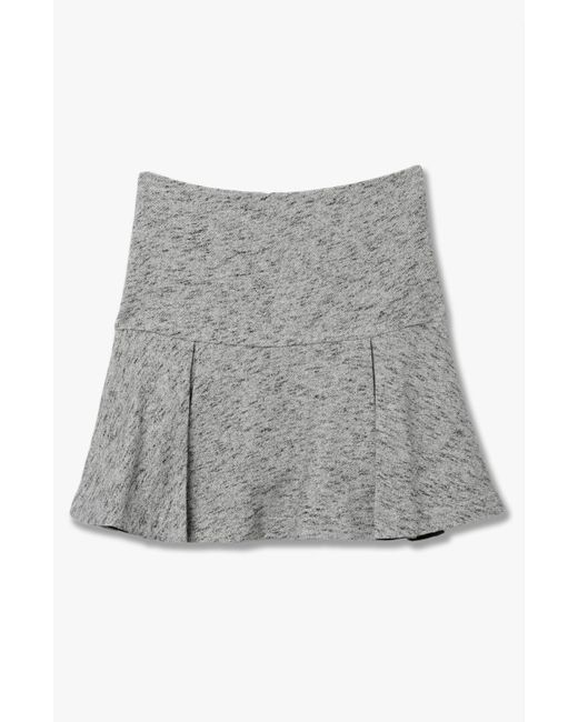 Derek Lam | Gray Flared Skirt | Lyst
