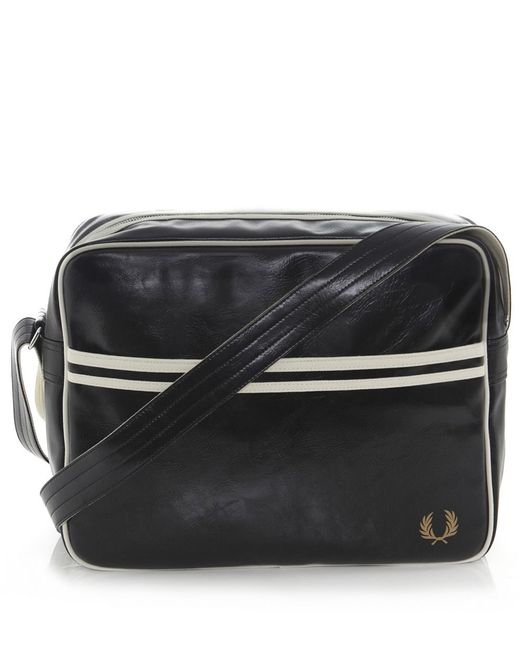 Fred Perry | Black Classic Shoulder Bag for Men | Lyst