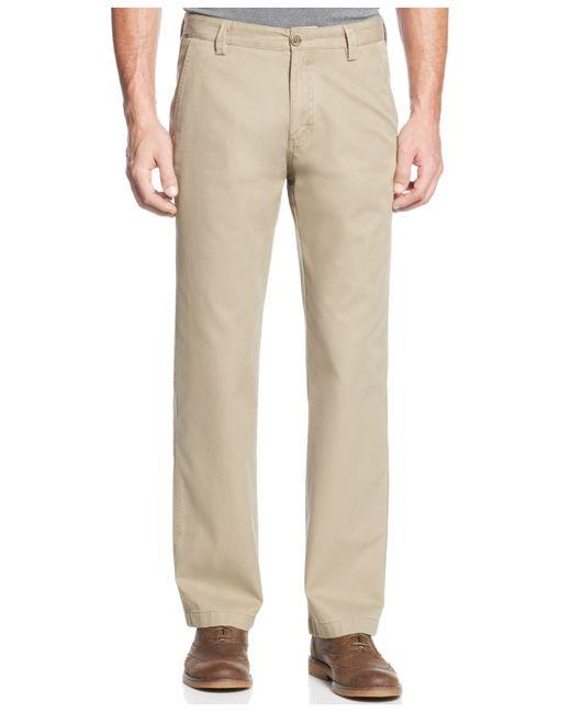 Cutter & Buck | Brown Big And Tall Men's Beckett Flat-front Pants for Men | Lyst