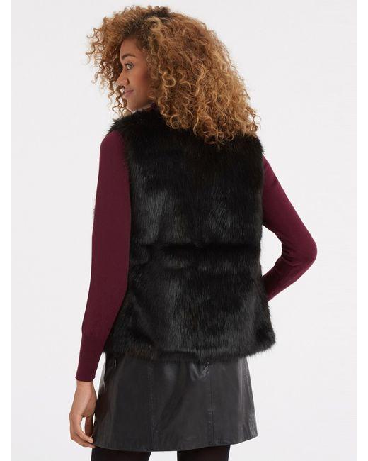 Oasis | Black Sophia Sleevless Jacket | Lyst