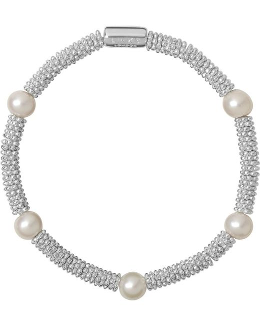 Links of London | Metallic Effervescence Star Extra-small Sterling Silver Bracelet | Lyst