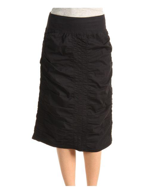 XCVI   Black Trace Back Skirt   Lyst