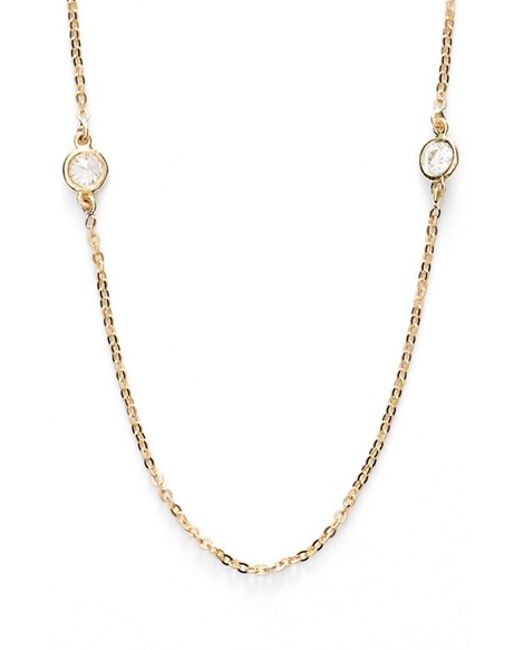 Bony Levy | Yellow Diamond Station Necklace (limited Edition) (nordstrom Exclusive) | Lyst