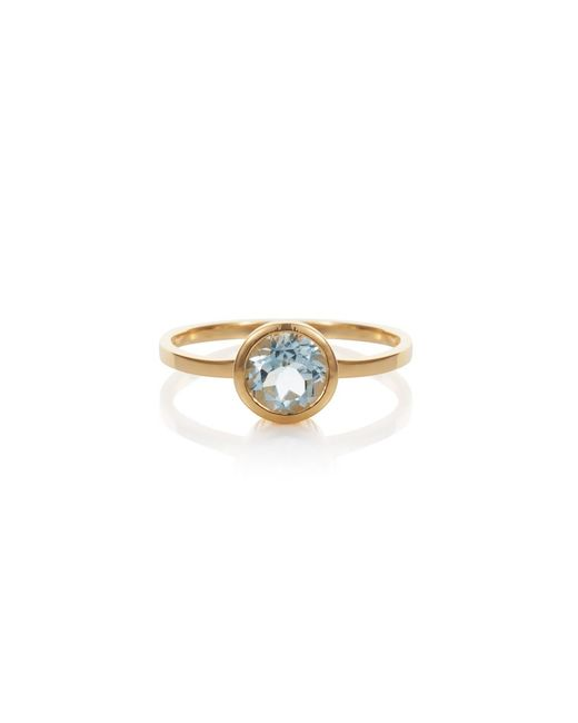 Caroline Creba | 18ct Gold Plated Sterling Silver 2.50ct Blue Topa | Lyst