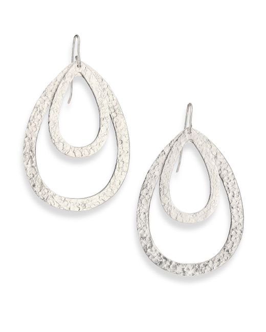 Stephanie Kantis | Metallic Paris Double Teardrop Earrings | Lyst