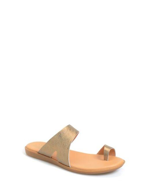 Kork-Ease | Metallic Kork-ease 'marlisa' Toe Ring Sandal | Lyst