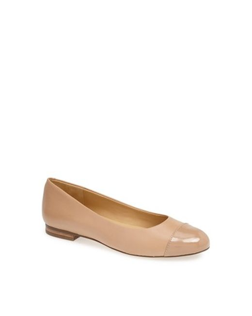 Trotters | Natural 'chic' Flat | Lyst