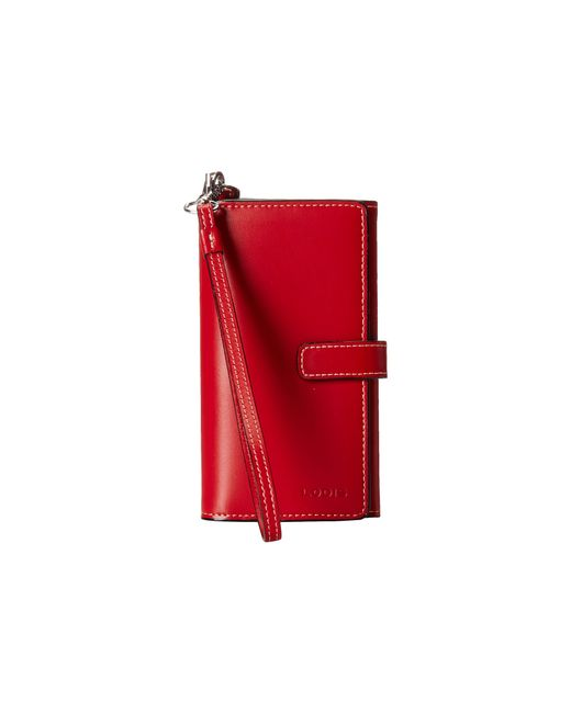 Lodis | Red Audrey Lily Phone Wallet | Lyst