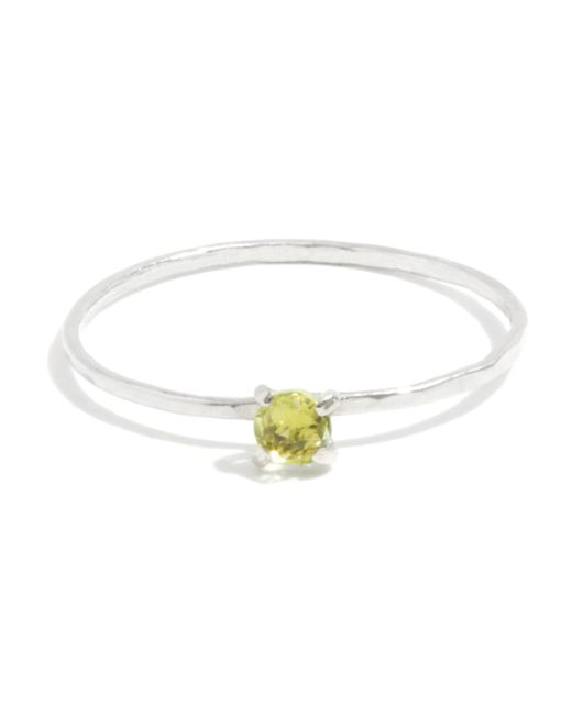 Melissa Joy Manning | Green Prong Set Peridot Ring | Lyst