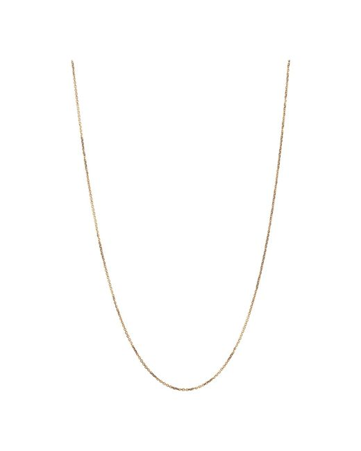Links of London | Metallic Rose Gold Dc Cable Chain 1mm 45cm | Lyst