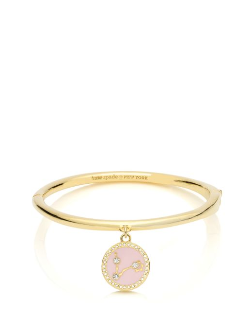 kate spade new york | Metallic In The Stars Pisces Bangle | Lyst