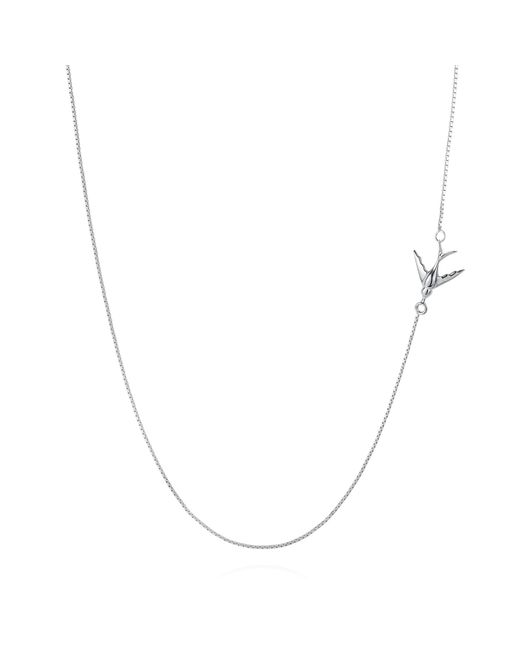 Lee Renee | Metallic Swallow Necklace Silver | Lyst