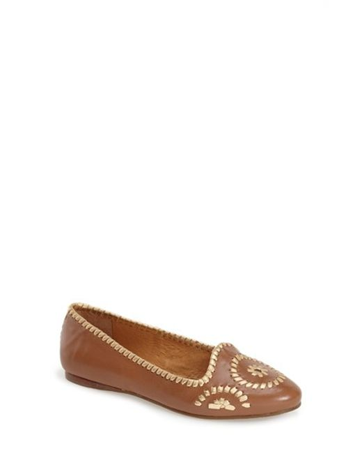 Jack Rogers | Brown 'waverly' Flat | Lyst